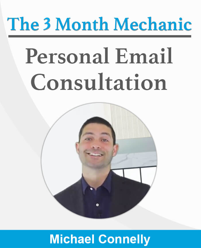 Personal email consultation with Mike Connelly